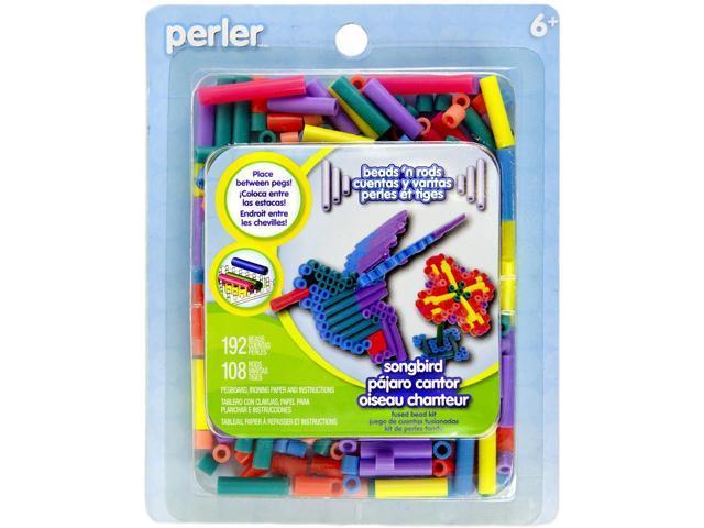Perler Beads 'n Rods Fused Bead Kit-Songbird