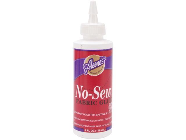 Aleene's No-Sew Fabric Glue-4oz