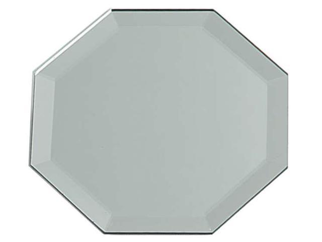 Octagon Glass Mirror W/Bevel Edge Bulk-12