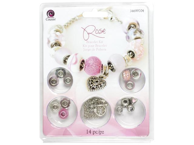 Large Hole Bracelet Kit-Rose