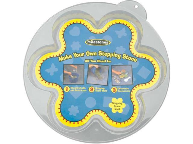 Stepping Stone Mold-Flower 12