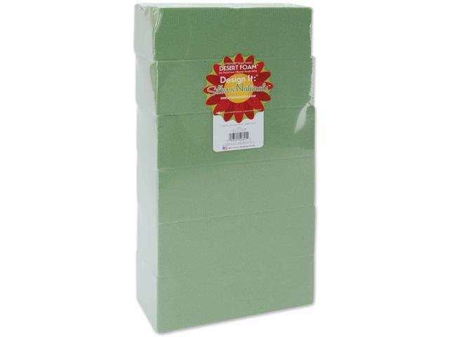 Dry Foam Blocks 6/Pkg-2.625
