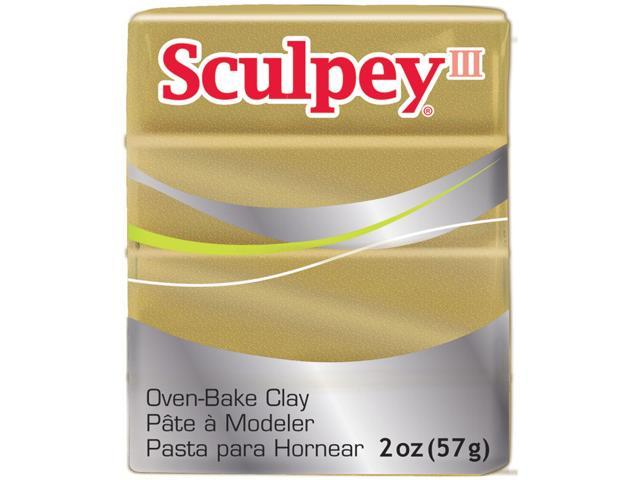 Sculpey III Polymer Clay 2 Ounces-Buried Treasure