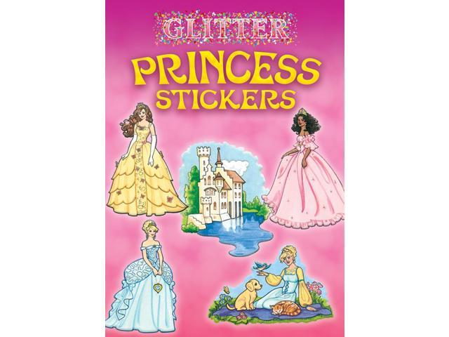 Dover Publications-Glitter Princess Stickers
