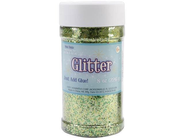 Metallic Glitter 8 Ounces-Green
