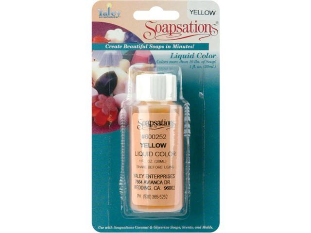 Soapsations Liquid Color 1oz-Yellow