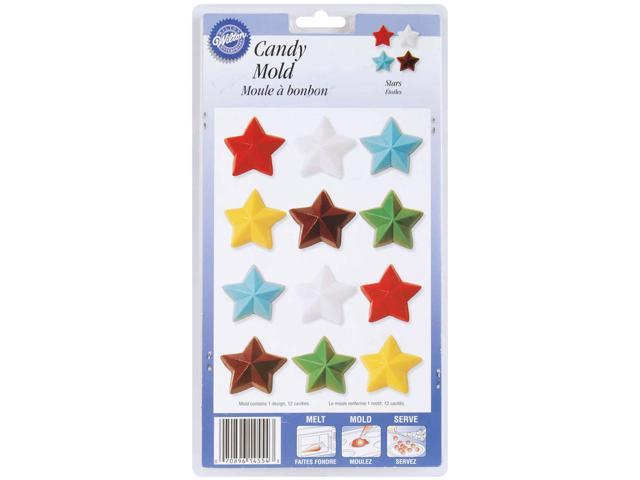 Candy Mold-Stars 12 Cavity