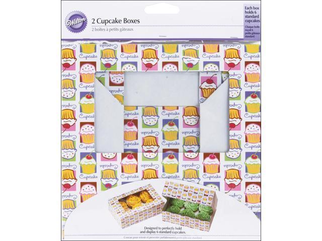 Cupcake Boxes-6 Cavity Cupcake Heaven 2/Pkg