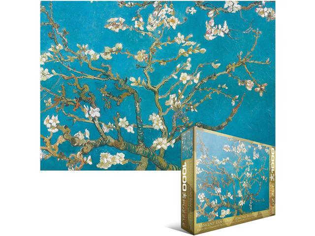 Eurographics EUROPZ-0153 Jigsaw Puzzle 1000 Pieces 19.25 in. X26.5 in. -Van Gogh - Almond Branches In Bloom