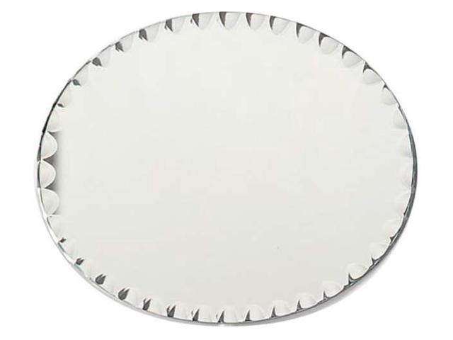 Oval Glass Mirror W/Scallop Edge Bulk-8