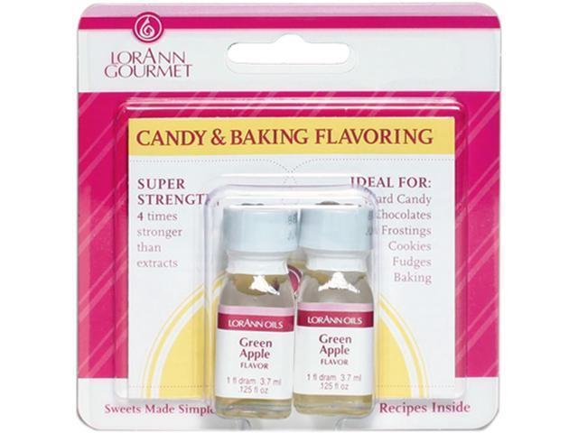 Candy & Baking Flavoring .125oz 2/Pkg-Green Apple