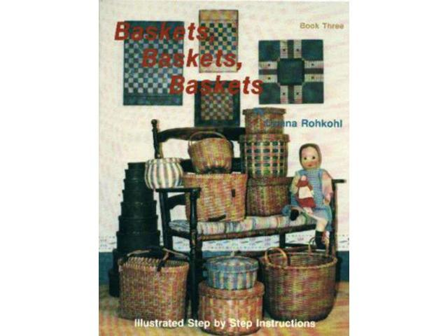 Commonwealth Manufacturing Company Books-Baskets, Baskets, Baskets: Book 3