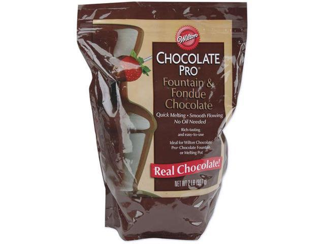 Chocolate Pro Fountain & Fondue Chocolate 2 Pounds-
