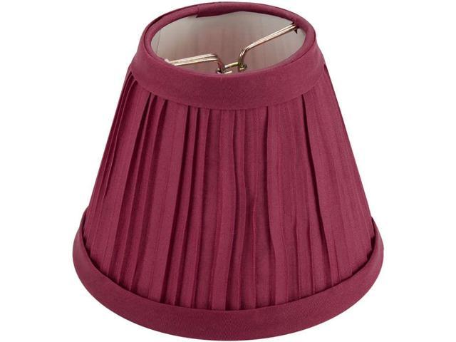 Pleated Cloth Covered Lampshade 2.5