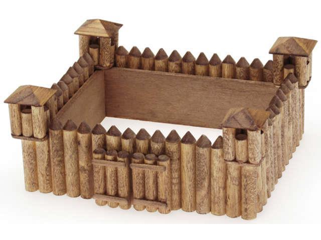 Wood Model Kit-Fort 5.375
