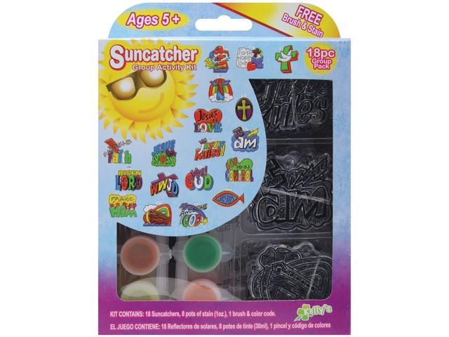 Suncatcher Group Activity Kit-Religious 18/Pkg