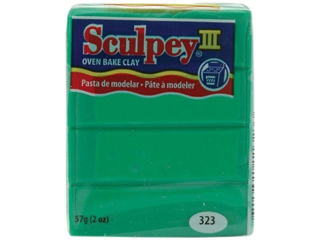 Sculpey III Polymer Clay 2oz-Emerald