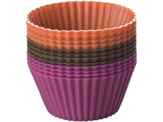 Silicone Standard Baking Cups-Round 12/Pkg