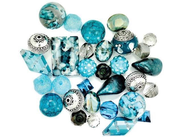Inspirations Beads 50g-Ice Bloom