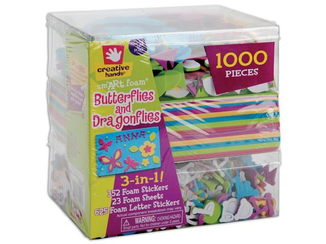 3-In-1! Foam Kit-Butterflies & Dragons
