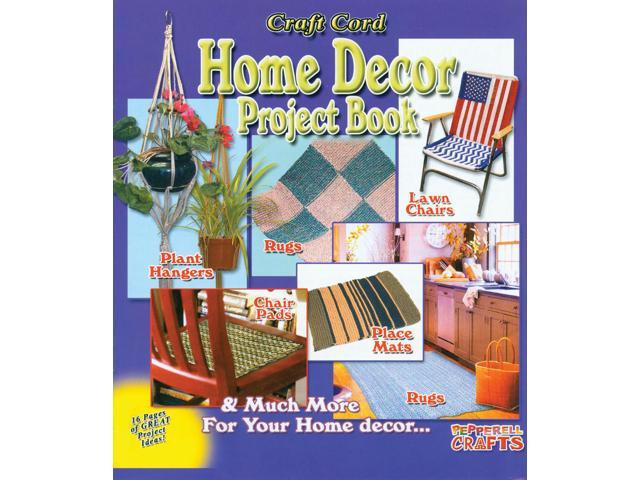 Craft Cord Home Decor Project Book-