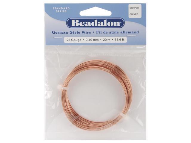 German Style Wire-Copper Round - 26 Gauge, 65.5'