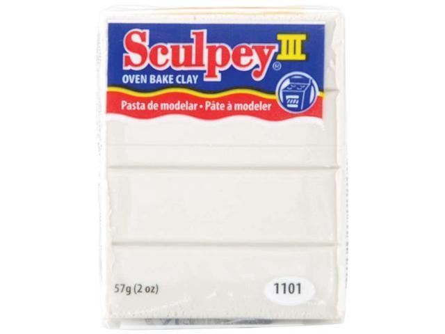 Sculpey III Polymer Clay 2oz-Pearl
