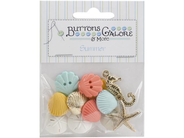 Button Theme Pack-Beach Treasures