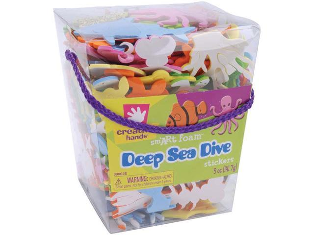 Foam Stickers 5oz-Deep Sea Dive