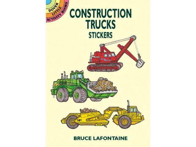 Dover Publications-Construction Trucks Stickers