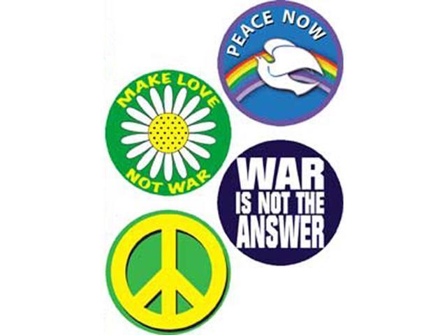 Button Set 4/Pkg-Peace