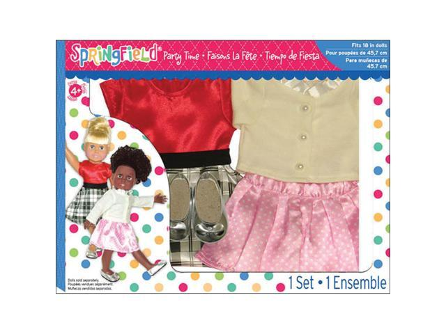 Springfield Collection Party Time Set-Dress, Sweater, Skirt & Flats