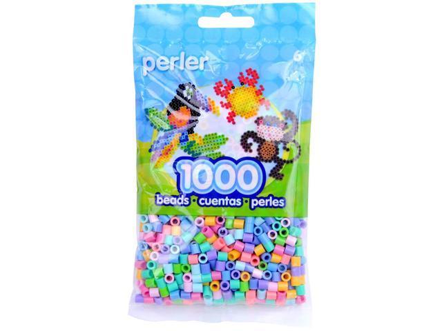 Perler Fun Fusion Beads 1000/Pkg-Pastel Mix