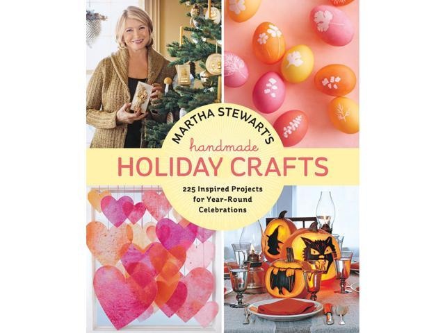 Potter Craft Books-Martha Stewart Handmade Holiday Crafts
