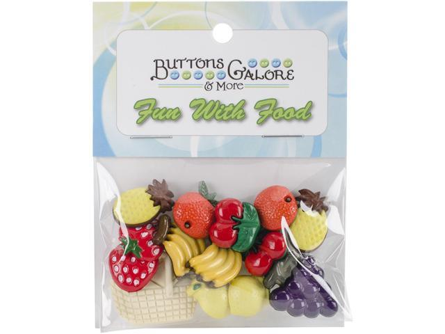 Button Theme Pack-Fruit Basket