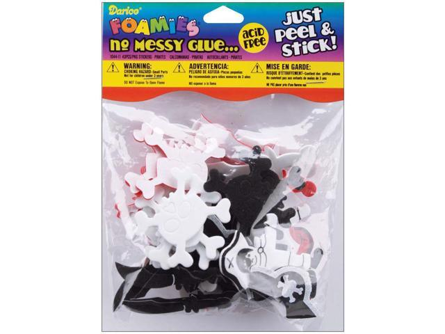Foam Stickers 43/Pkg-Pirate