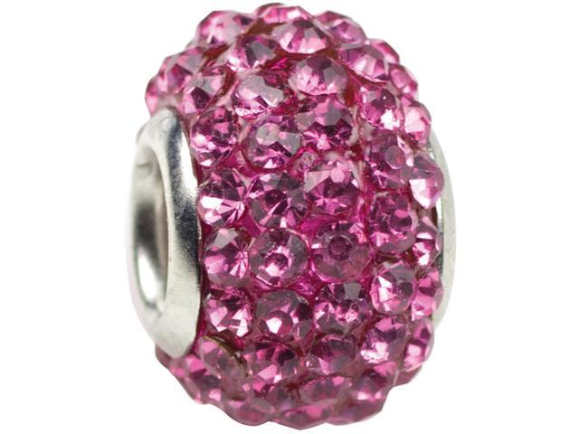 Trinkettes Glass Rhinestone Bead 1/Pkg-October