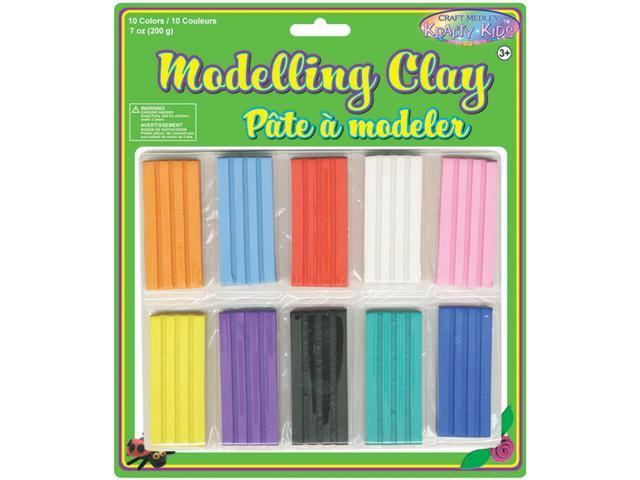 Modeling Clay 200g 10/Pkg-Assorted