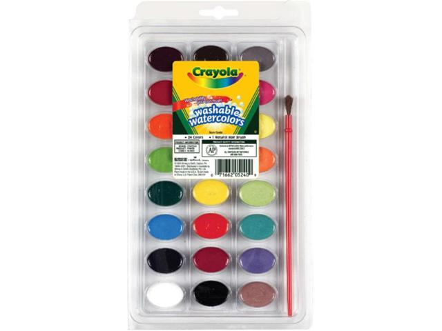 Crayola Washable Watercolors-24 colors