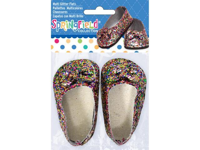Springfield Collection Glitter Flats-Multicolor