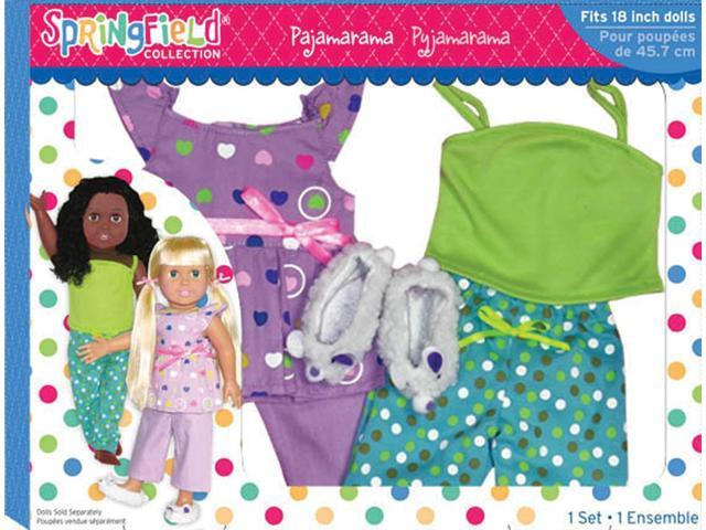 Springfield Collection Pajamarama Set-Top, Capris, Camisole, Pants & Slippers