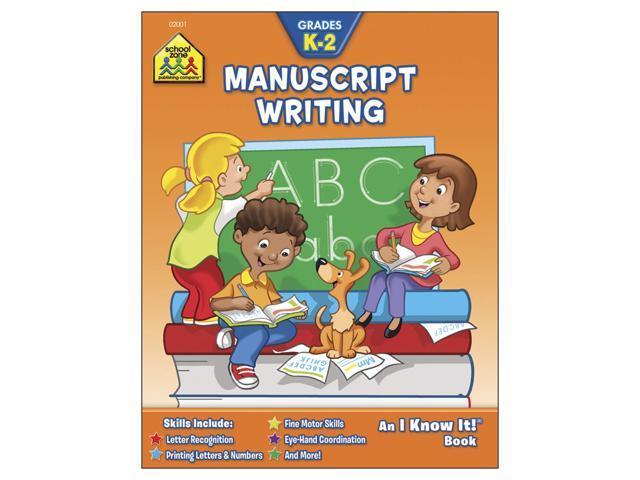 Curriculum Workbook-Manuscript Writing - Grades K-2