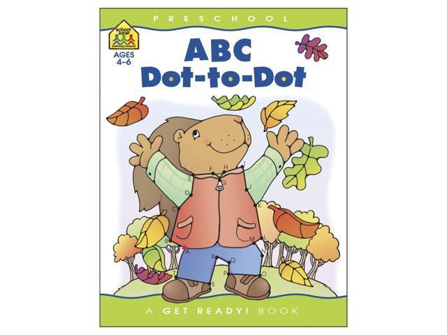 Preschool Workbooks-ABC Dot-To-Dot - Ages 3-5