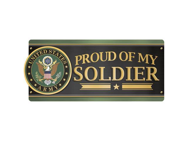 Car Magnet-U.S. Army - Proud Of My Soldier