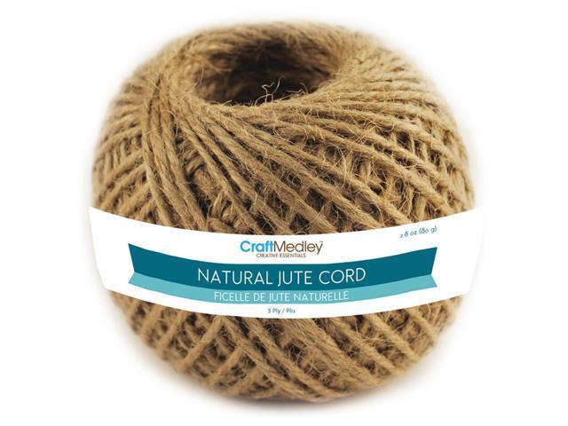 Jute Cord 3ply 80g-Natural