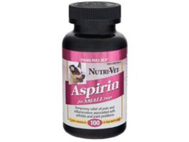 Nutri-Vet K-9 Aspirin for Small Dogs (100 Liver Chewables)