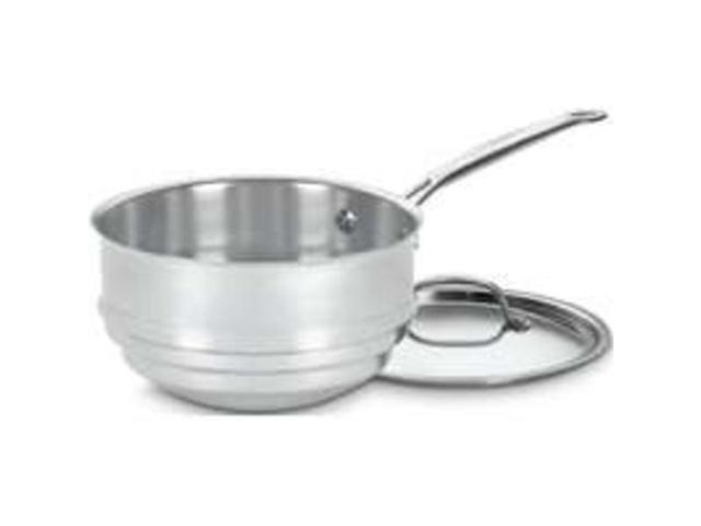 Cuisinart/Waring 7111-20 Double Boiler Sauce Pan 2,3,4-Quart Stainless Steel - E
