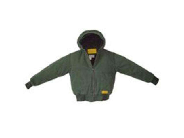 Diamondback WR-35526-L-G Hooded Green Jacket, Large
