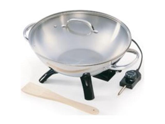National Presto 5900 Stainless Steel Electric Wok