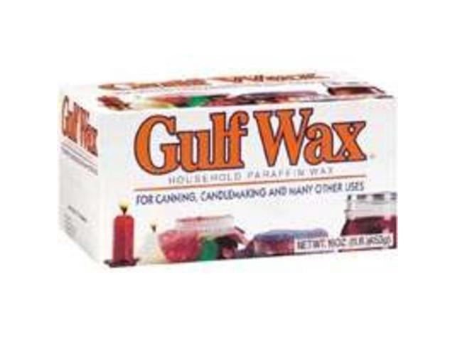 Gulf Wax Paraffin ROYAL OAK Misc Canning  PARAFFIN White 062338009728